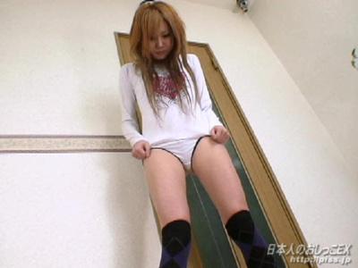 マニア系放尿動画 日本人のおしっこEX 愛美はおしっこまみれ 小塚愛美 おもらし